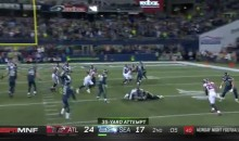Seattle Seahawks Run The WORST Fake Field-Goal EVER on MNF (VIDEO)