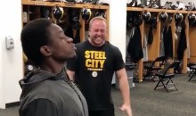 Steelers Players Attempted (and Totally Failed) the 'One-Chip Challenge' (VIDEO)