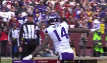 Vikings' Stefon Diggs Being Accused of Doing A 9/11 Plane Crash Celebration (VIDEO + TWEETS)