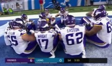 Vikings Have the PERFECT Thanksgiving TD Celebration (VIDEO)