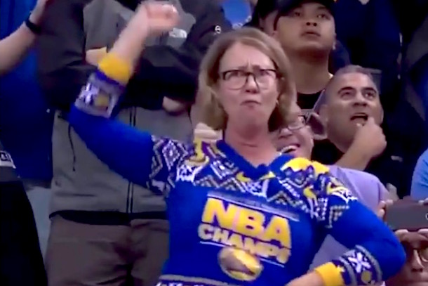 711cfa023b0 Steph Curry Unveils Dance Cam Mom Sneakers
