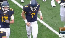 West Virginia QB Will Grier Gruesomely Dislocated His Finger During Game (VIDEO)
