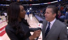 This John Calipari Interview with ESPN Reporter Maria Taylor Was SUPER Awkward (VIDEO)