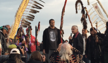 Colin Kaepernick Visits Alcatraz Island In Support of 'Unthanksgiving Day' (VIDEO)
