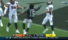 Denver Broncos & Oakland Raiders Get Into An All-Out Brawl With Fists Thrown Everywhere (VIDEO)