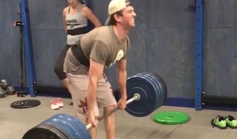 donald trump jr. weightlifting