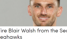 Seahawks Fans Start Petition To Fire Blair Walsh After Missing Game Tying Kick on MNF