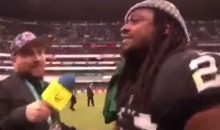 Mexican Reporter Gives Marshawn Lynch a Soccer Jersey, Gets Hilarious Interview In Return (VIDEO)