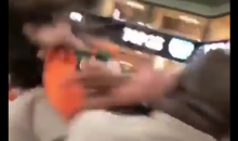 Stadium Security B*tch Slaps Female Miami Hurricanes Fan After She Hit Him First (VIDEO)