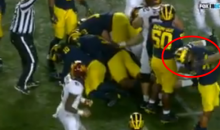Minnesota OL Donnell Greene Ejected For Smacking Opponent In His Face (VIDEO)