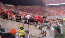 Angry N.C. State Fans Throw Things and Spit at Officials After Clemson Loss (VIDEO)