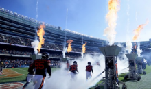 There Was Literally a Trash Fire Inside Soldier Field 24 Hours After Chicago Bears Lost By 28
