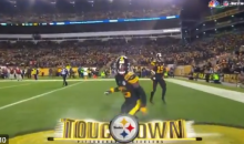 "Steelers Celebrated Negated TD By Playing ""Keep-Away"" From Le'Veon Bell (VIDEO)"