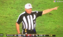 "Ref Calls Holding Penalty On The ""Defensive Right Tackle"" During TNF (VIDEO)"