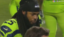 Richard Sherman Tells Bobby Wagner on Sideline That He's Torn His Achilles (VIDEO)