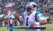 Jets' Jamal Adams Tried To Stop Cam Newton From Doing His 'Superman' Celebration; Knocks Ball Out of His Hand (VIDEO)