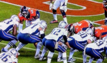 Hilarious Photo Taken During SNF Makes It Look Like Tom Brady Had An Apple Bottom Butt (PIC)