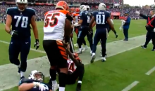 Vontaze Burfict Purposely Stepped On Titans Player's Arm Numerous Times (VIDEO)