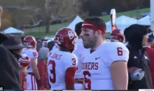 Baker Mayfield Tells Kansas Football Fans To 'Stick To Basketball' During Game (VIDEO)