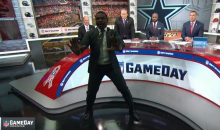 Michael Irvin Rants on O-Lineman: 'It's Easy. It's Fat Men Standing In Front of Each Other' (VIDEO)