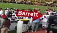 Ohio State QB J.T. Barrett's Camera Collision Aftermath Footage Released; Photog Ran Away (VIDEO)