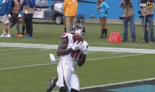 Julio Jones Found Himself WIDE OPEN For An Easy TD & He Dropped The Ball (VIDEO)