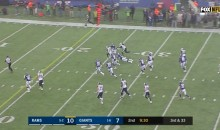 Rams Converted A 3rd & 33 With A 52-YD Touchdown Screen Pass Against Giants (VIDEO)