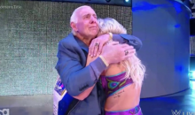 Ric Flair Makes Emotional Return To WWE To Surprise Daughter Charlotte (VIDEO)