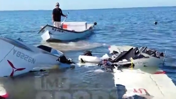 video footage roy halladay plane crash