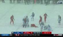 Internet Reacts to Snow In Buffalo For Colts-Bills Game (TWEETS)