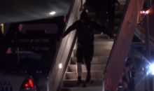 Carson Wentz Struggling To Walk Off Team Plane Is A Terrible Sight To See (VIDEO)