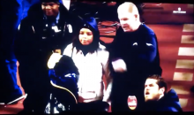 Wife Jumps Out of Stands To See Injured Chargers Husband; Gets Escorted Away By Cops (VIDEO)