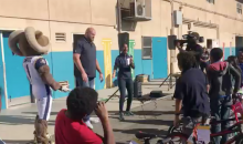 Rams' Andrew Whitworth Buys Bicycles For An Entire Elementary School (VIDEO)