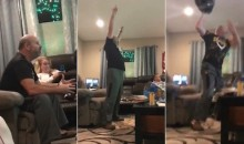 Angry Steelers Dad GOES NUTS During Steelers-Pats Game (VIDEO)