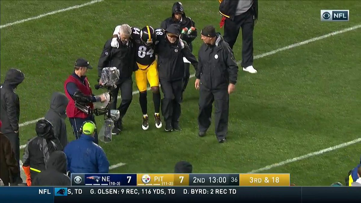 Total Pro Sports BREAKING: Steelers WR Antonio Brown Has A ...