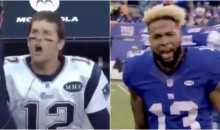 Odell Beckham Shares Video of Him & Tom Brady Being Emotional to Illustrate Double Standards (VIDEO)