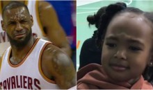 LeBron James' Daughter Impersonating Her Dad Reacting To Refs Is Ridiculously Adorable (VIDEO)