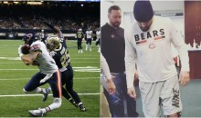 Bears' Zach Miller Is Up & Walking After Nearly Having His Leg Amputated (VIDEO)