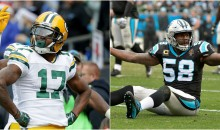 Davante Adams Goes On Rant After Blindside Hit; Thomas Davis Apologizes For His Actions (TWEETS)