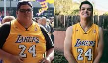 Los Angeles Lakers Fan Has Lost 170 lbs Since Kobe's Last Game