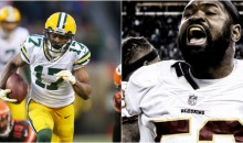 Packers' Davante Adams Calls Redskins' Zach Brown 'Twitter Fingers' For Typing Reckless About Thomas Davis' Hit (TWEETS)