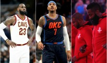REPORT: Carmelo Anthony Planned To Form Super-Team With Lebron, Chris Paul, & Harden in Houston