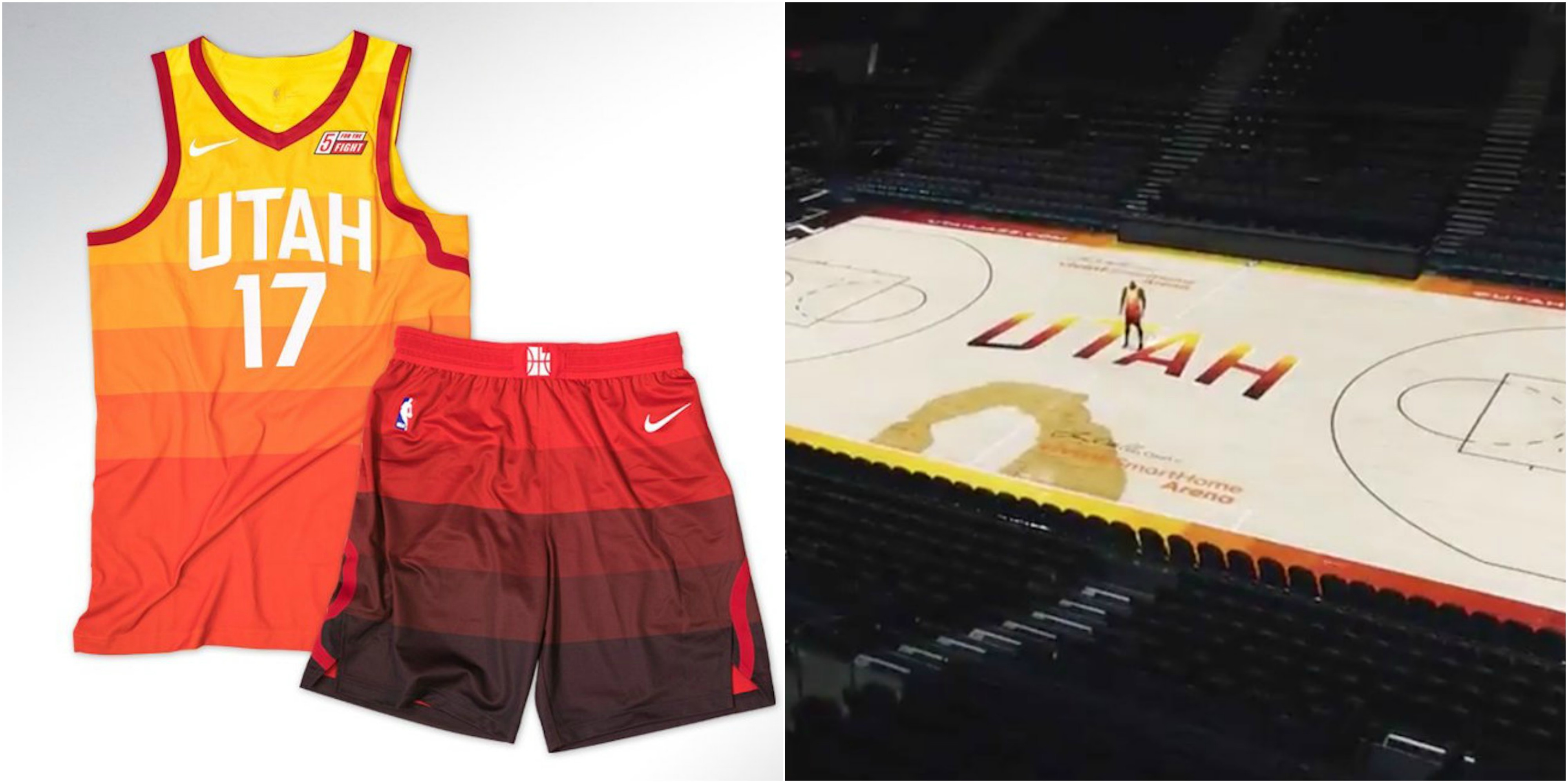 separation shoes 44f1b 1c8fc Utah Jazz Unveil New 'City' Uniforms And Court (PICS ...