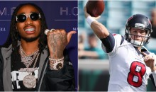 Quavo Wants Texans To 'Call Him' After Starting Taylor Heinicke, Who Barely Broke His Record in High School
