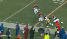 Bengals Refuse To Tackle Le'Veon Bell on 35-Yard TD (VIDEO)