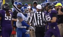 Kentucky RB Benny Snell Ejected For Refusing Ref's Helping Hand (VIDEO)