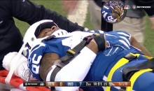 Colts TE Brandon Williams Stretchered Off After Head Injury vs. Broncos (VIDEO)