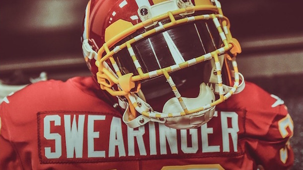 f9eb2183c63 D.J. Swearinger Pays Tribute to Sean Taylor