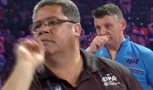 Dart Player Accused of Purposely Moving In & Coughing To Distract Opponent (VIDEO)