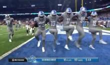 Detroit Lions Transform Into The Rockettes To Kick Out A Touchdown Celebration (VIDEO)